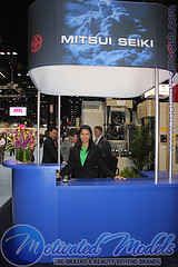 IMTS Asian Trade Show Model Chicago Modeling A...