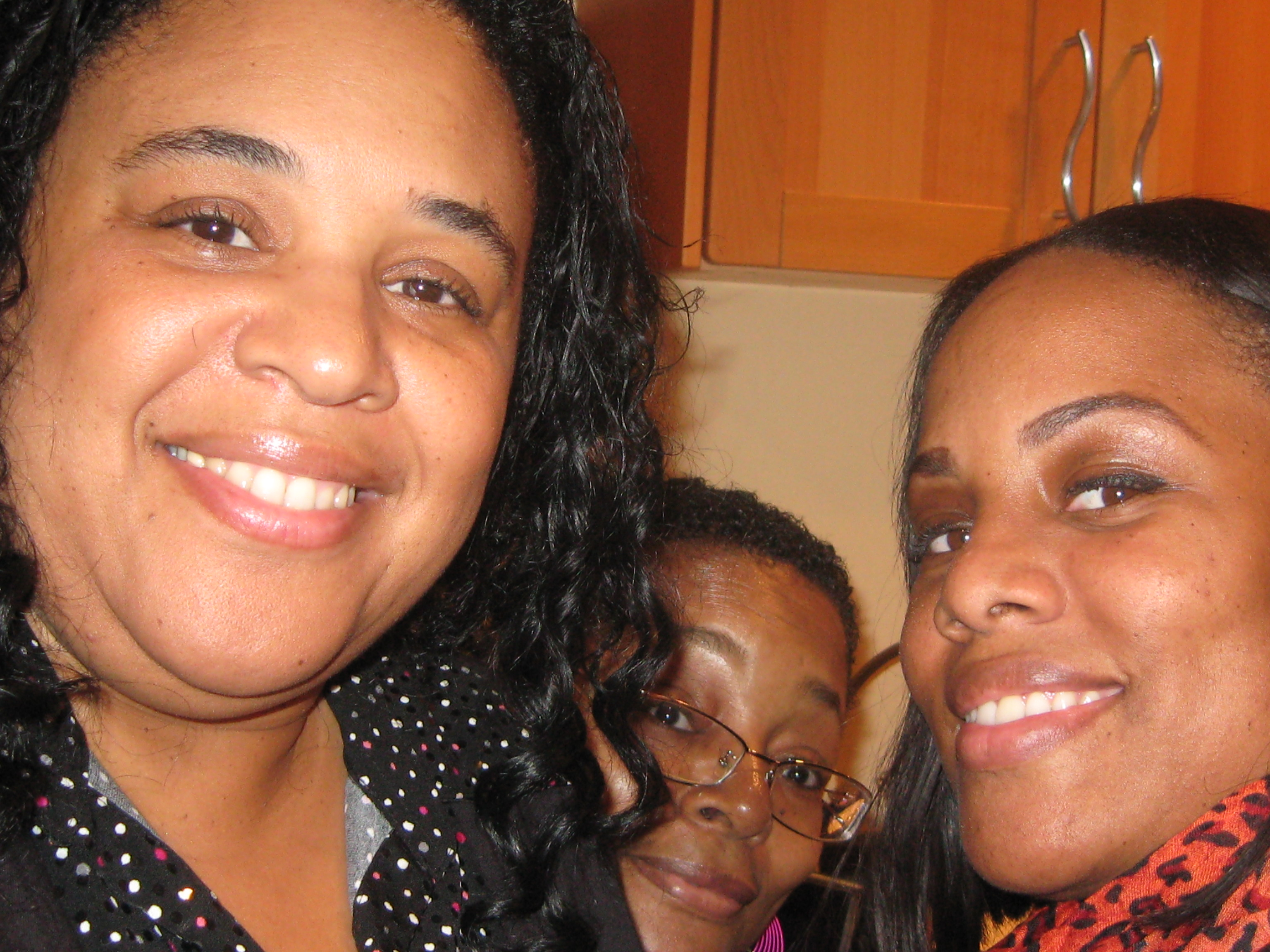 Me, My Sister Autumn and My Mom